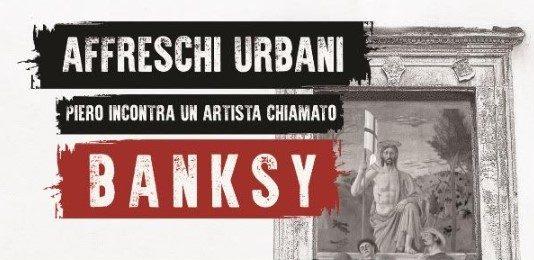 Affreschi urbani. Piero incontra un artista chiamato Bansky