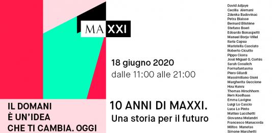10 anni di MAXXI. Una storia per il futuro