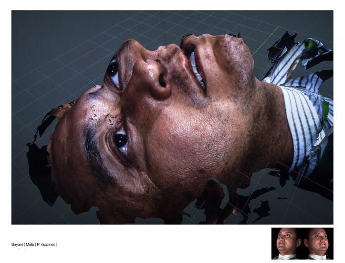 The Digital Skin Series,2016. Courtesy the artist and GALLLERIAPIÙ