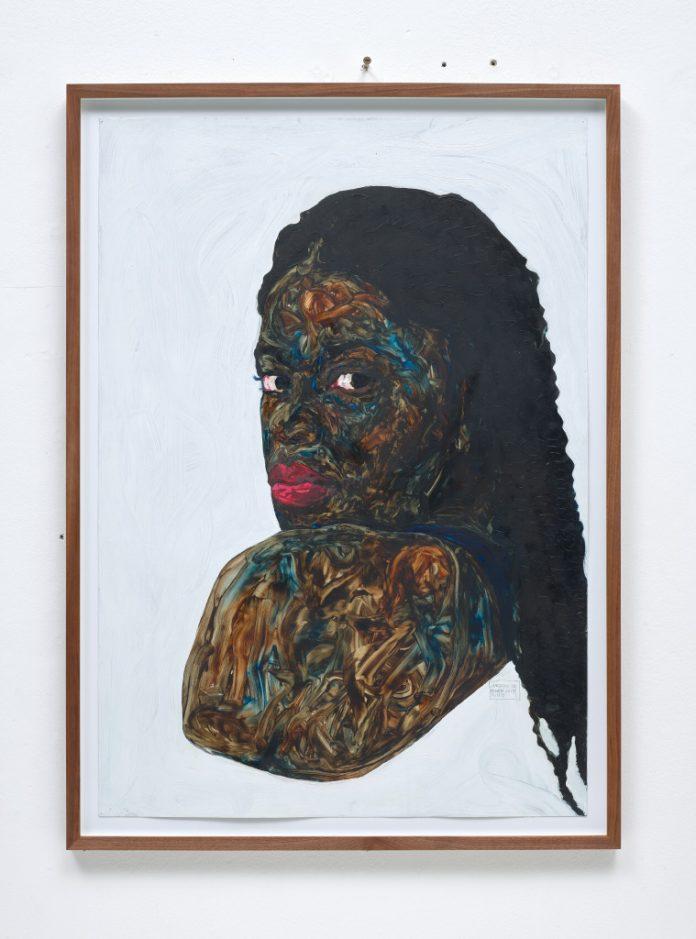 L'opera di Amoako Boafo in asta da Phillips