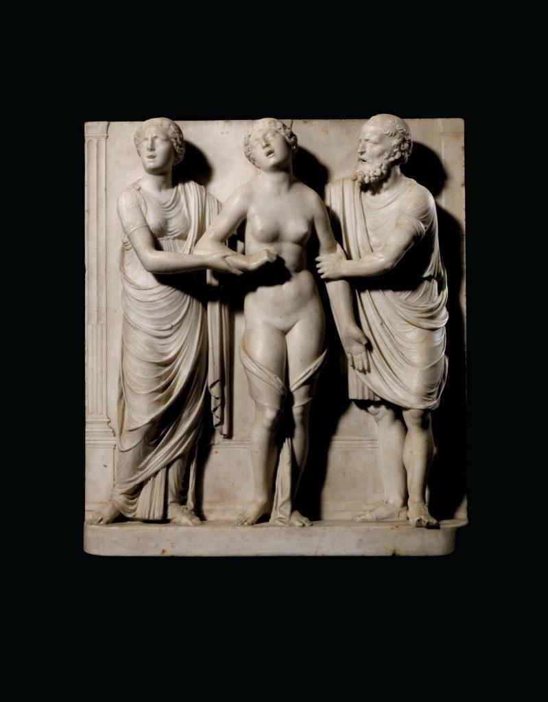 Antonio Lombardo (attr.), Death of Lucretia