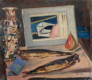 De Pisis, I Pesci Sacri, 1925