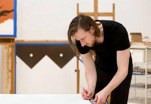 In the Studio. Photo by Oscarito Sanchez