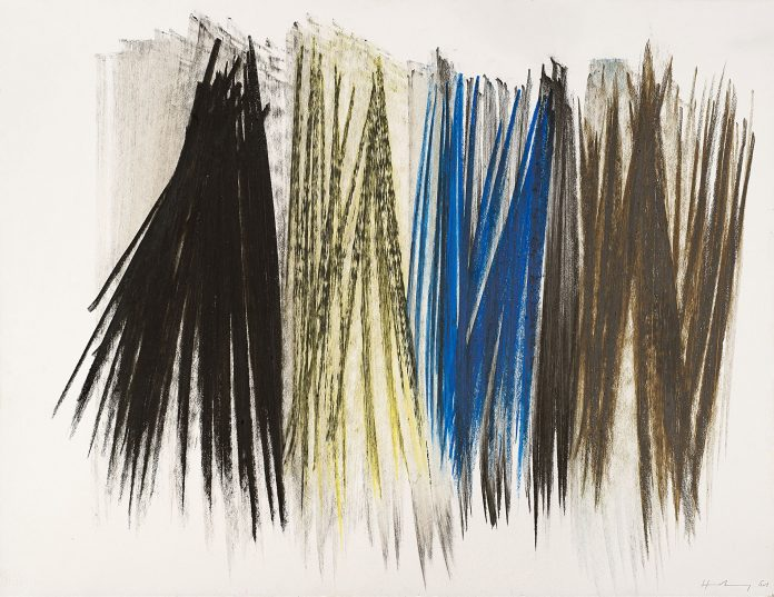 Lotto 231, HANS HARTUNG (Lipsia 1904 - Antibes 1989)