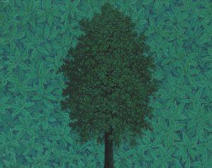 L'Arc de Triomphe, di Magritte