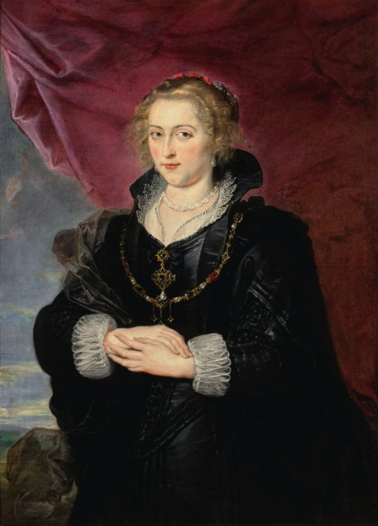 SIR PETER PAUL RUBENS, PORTRAIT OF A LADY. Venduto per £3.015.000j
