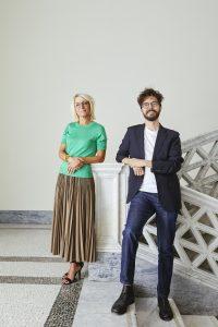 Sarah Cosulich e Stefano Collicelli Cagol, foto di Alessandro Cantarini
