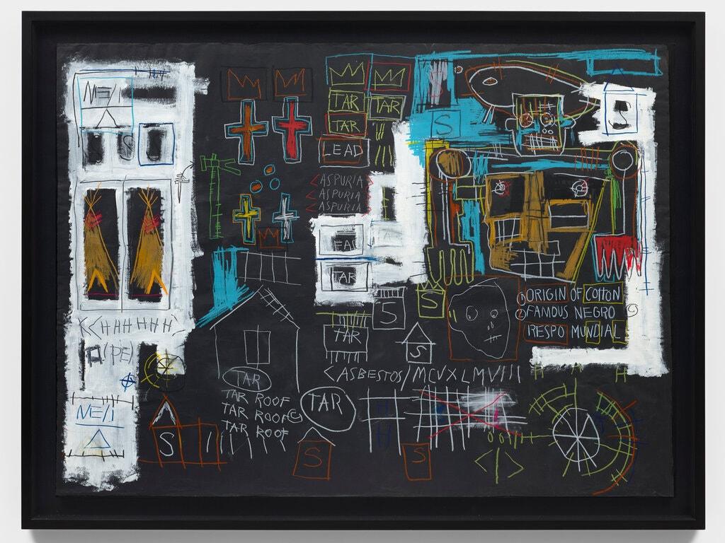 Opera senza titolo, Jean Michel Basquiat (1982), prossimamente su Fire Warning