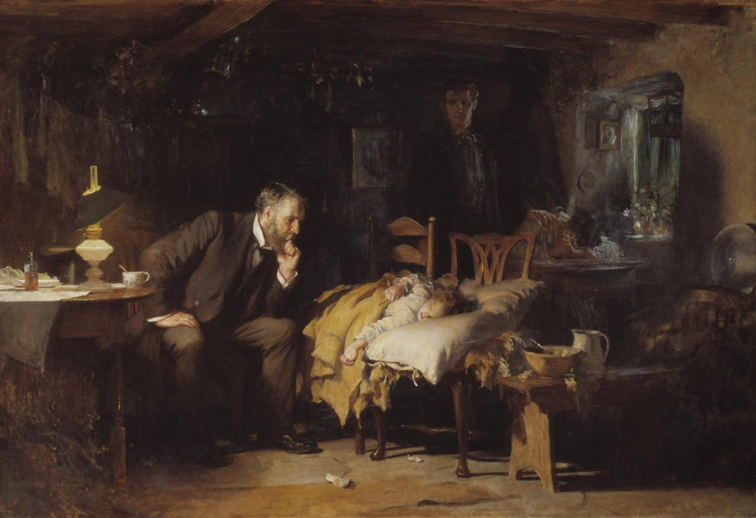 Luke Fildes, The Doctor, 1891
