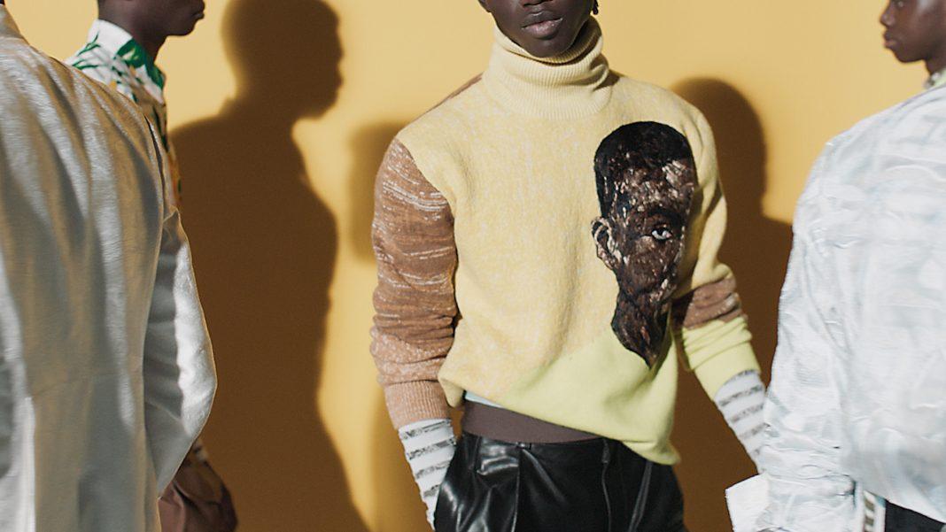 Amoako Boafo per Dior Men