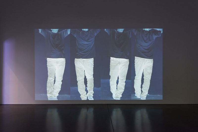 Bruce Nauman, Contrapposto Studies, I through VII, 2015-16. Pinault Collection and Philadelphia Museum of Art. © Bruce Nauman / Artists Rights Society (ARS), New York