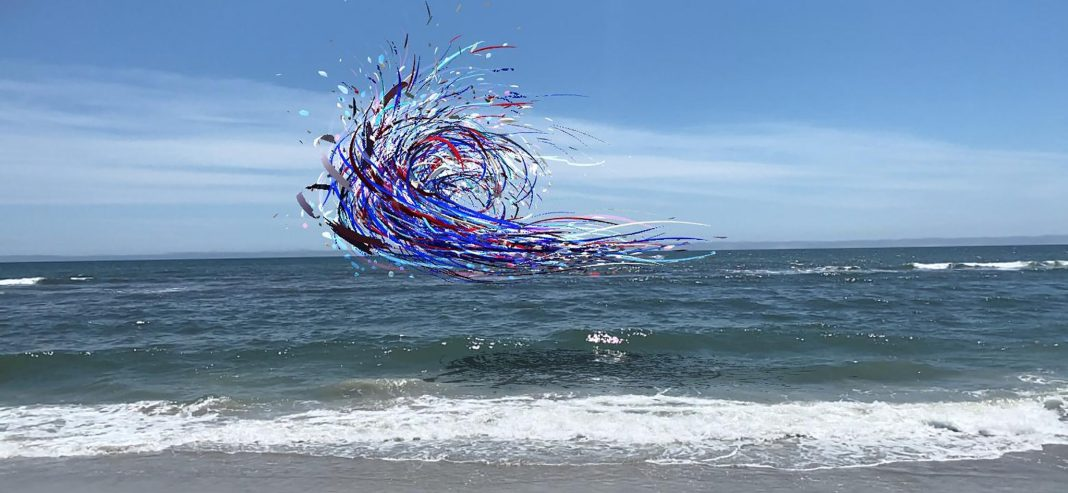 Fort Tilden-Rockaway Beach, New York - Inquadrando la zona, si potrà ammirare Liberty Bell, l'ultimo lavoro di Nancy Baker Cahill. Questa è solo una delle tante notizie dal mondo dell'arte che vi aspettano questa settimana (Nancy Baker Cahill via Art Production Fund)