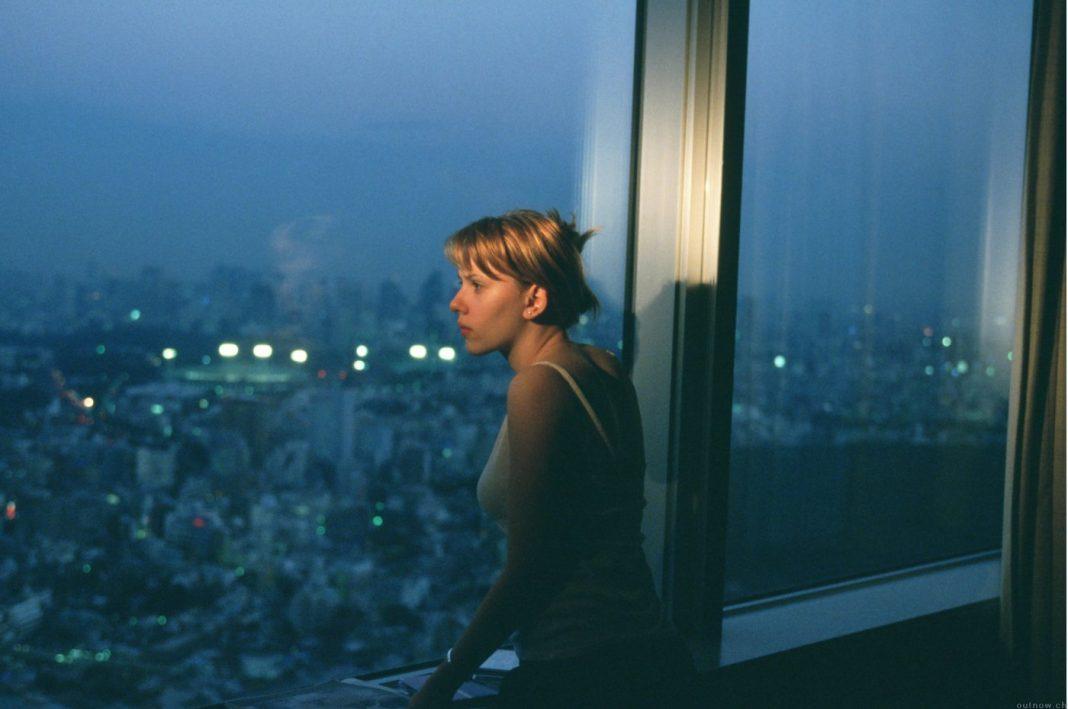 Scarlett Johannson in Lost in Translation, di Sofia Coppola