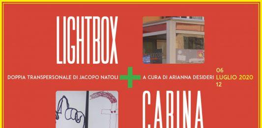 Jacopo Natoli – Lightbox + cabina
