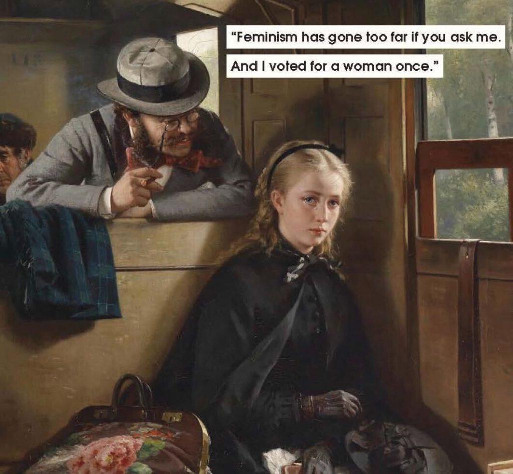 Uno dei meme presenti nel nuovo libro di Nicole Tersigni (Courtesy Chronicle Books).
