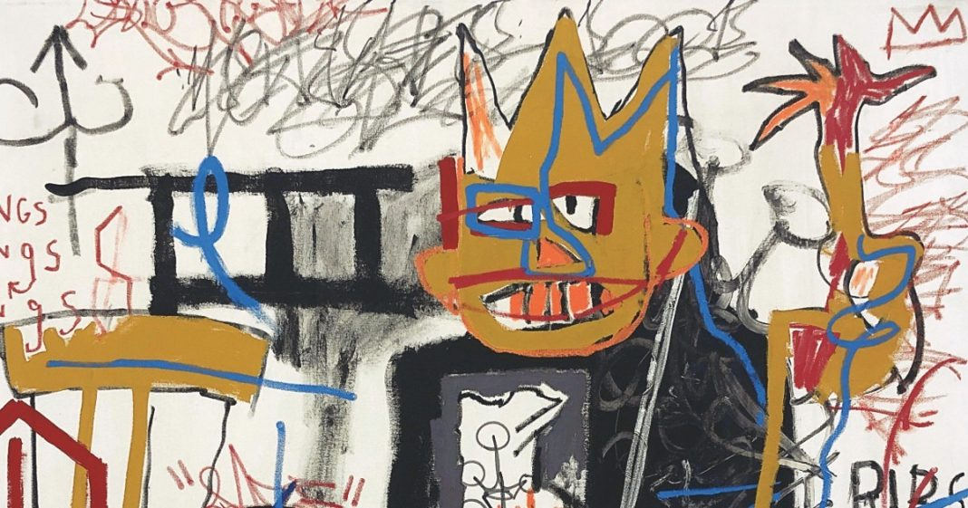 Jean-Michel Basquiat, Portrait of A-One A.K.A King (1982) | Phillips