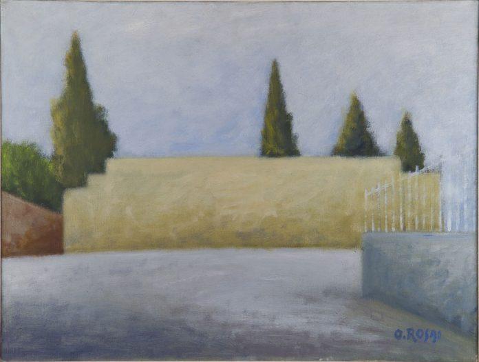 Ottone Rosai, Muro, 1963