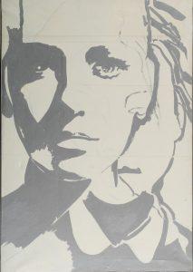 Giosetta Fioroni, Doppia identità, 1969