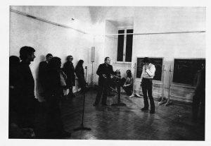 Joseph Beuys a Palazzo Taverna