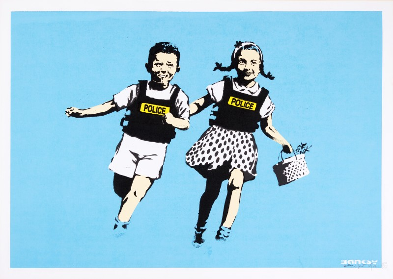Banksy, Jack and Jill. Sotheby's