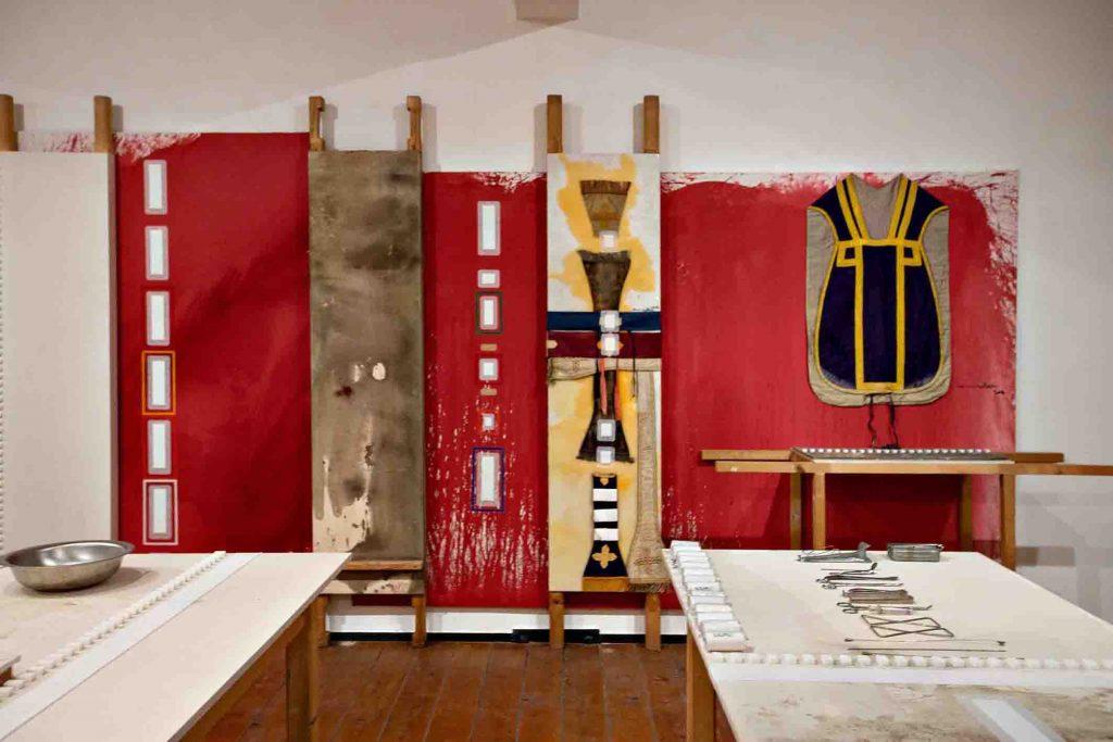 Sinfonia Napoli 2020, nuovo allestimento Museo Nitsch, ph. Biagio Ippolito