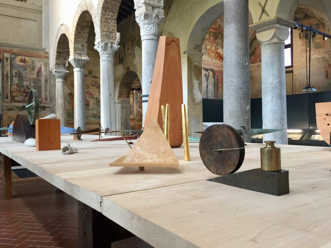 """Juan Navarro Baldeweg. Architettura, Pittura, Scultura. In un campo di energia e progresso Brescia"""", vista della mostra, Museo di Santa Giulia, settembre 2020"""