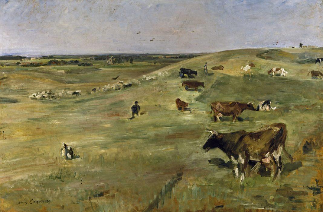 Lovis Corinth, Mucche al pascolo, 1903