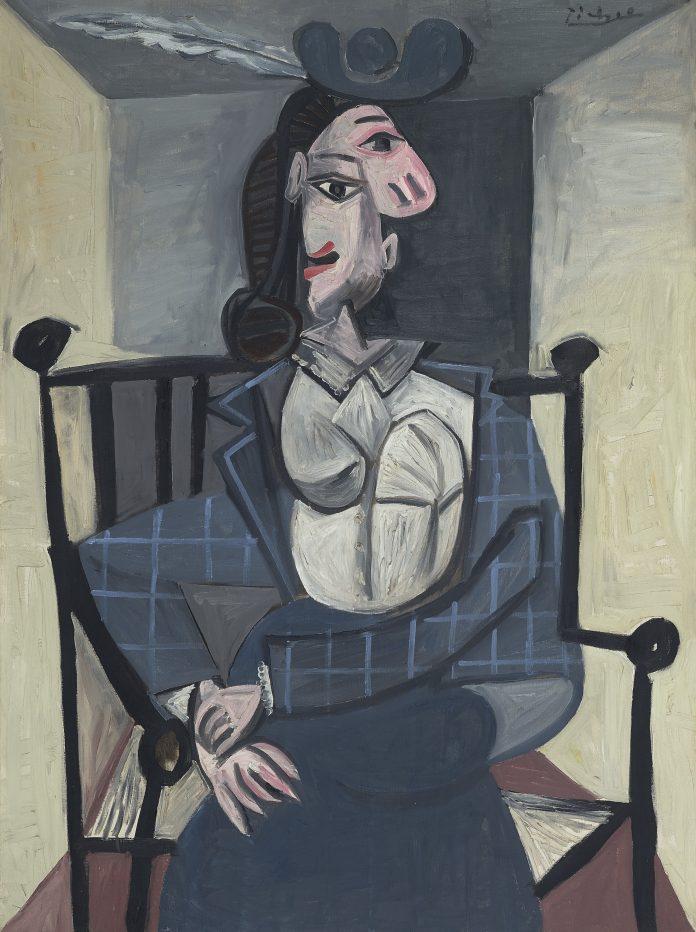 Pablo Picasso, Femme dans un fauteuil (1941)