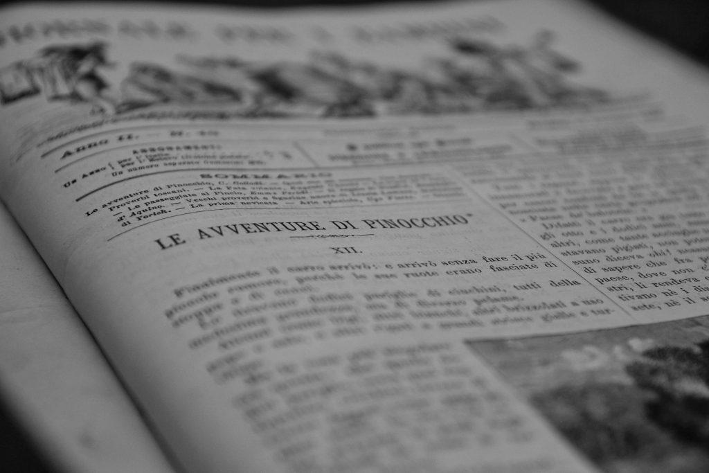 COLLODI, Carlo (pseudonimo di Carlo Lorenzini, 1826-1890) - [PINOCCHIO - La vera storia di un buratti-no]. Giornale per i bambini. Roma: 1881-1883. Photo Credits Il Ponte Casa d'Aste