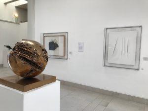 Pomodoro, Burri e Fontana, Museo Revoltella
