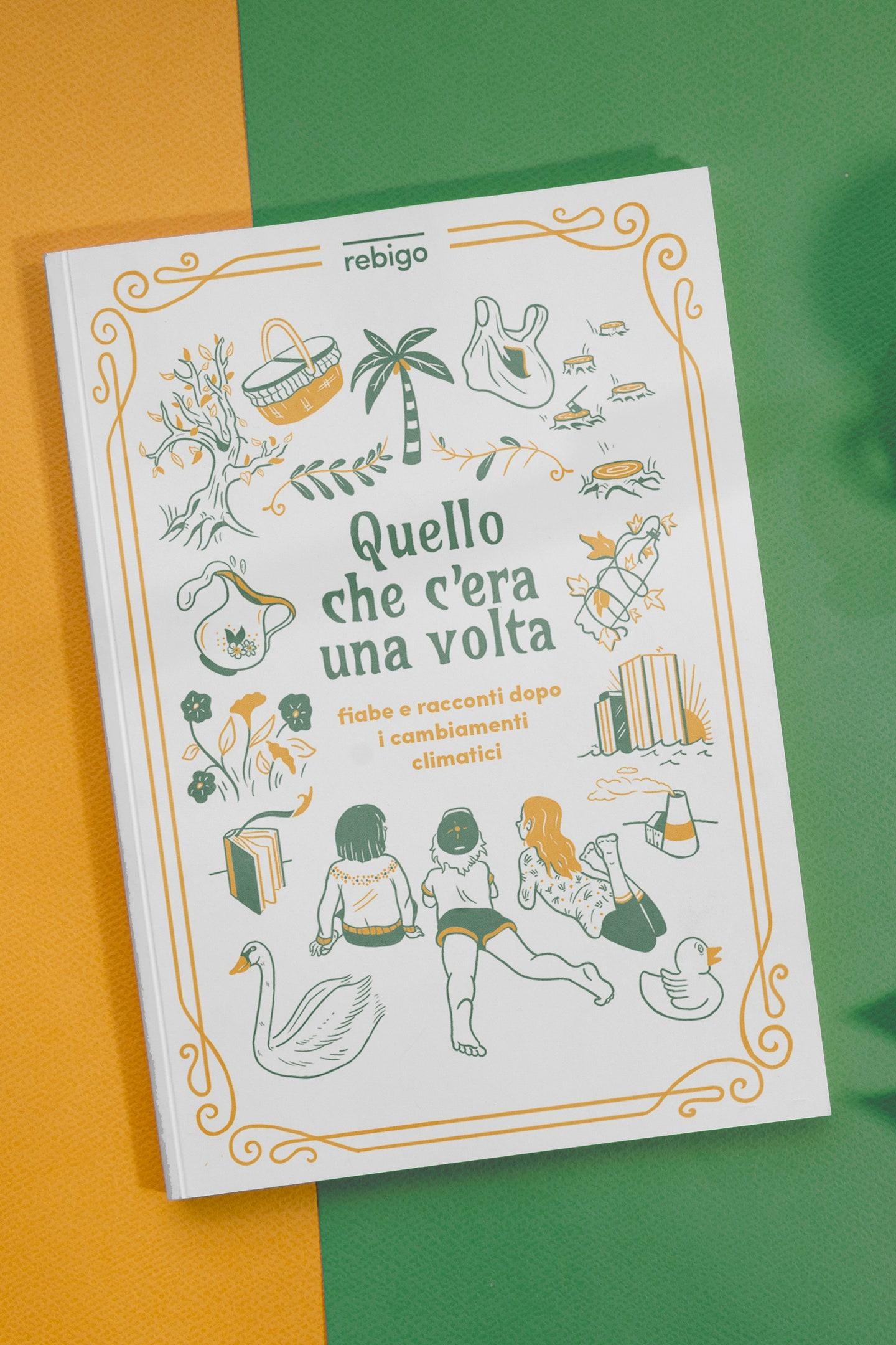 La copertina del nuovo libro illustrato dello Studio Rebigo