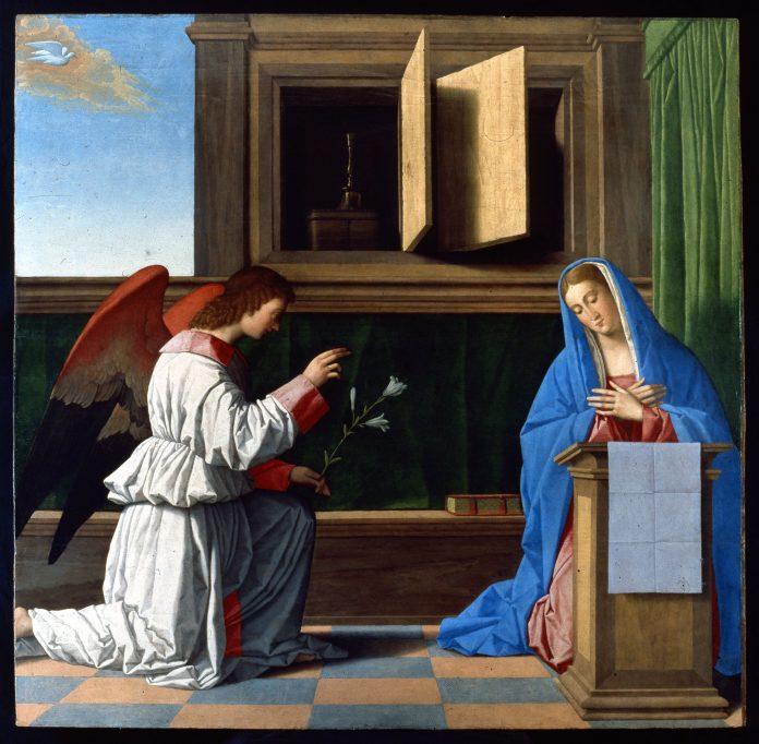 L'Annunciazione di Vincenzo Catena, alla Pinacoteca di Carpi