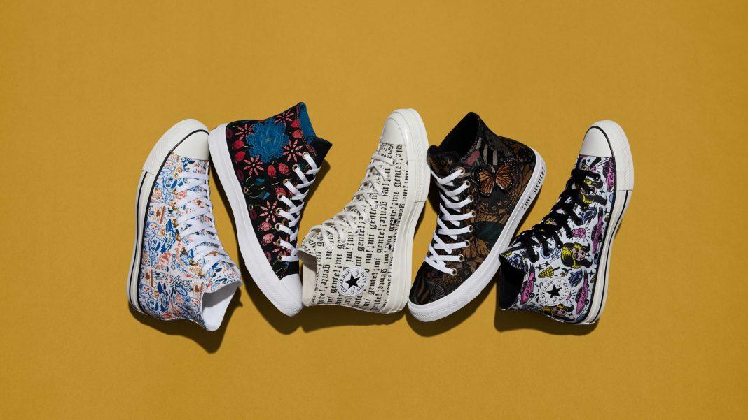 Tra le notizie dal mondo dell'arte di questa settimana, la collezione di Converse dedicata alla cultura latina (courtesy: Nike)
