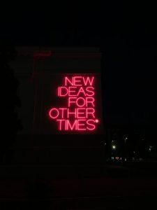 New Ideas for other times di Maurizio Nannucci