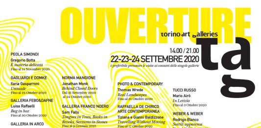 TAG – Torino Art Galleries 2020