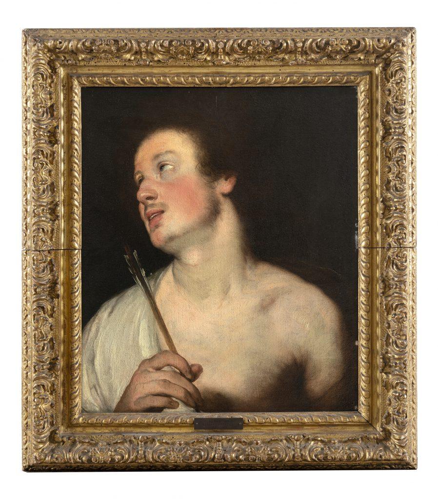 Bernardo Strozzi, San Sebastiano (lotto 113, € 10.000-12.000). Il Ponte Casa d'Aste