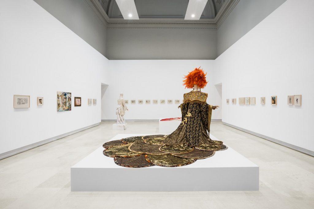 Sylvano Bussotti, veduta dell'allestimento, Quadriennale d'arte 2020 FUORI, courtesy Fondazione La Quadriennale di Roma, foto DSL Studio