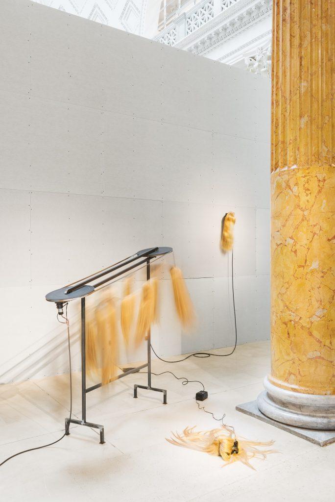 Anna Franceschini, veduta dell'allestimento, Quadriennale d'arte 2020 FUORI, courtesy Fondazione La Quadriennale di Roma, foto DSL Studio