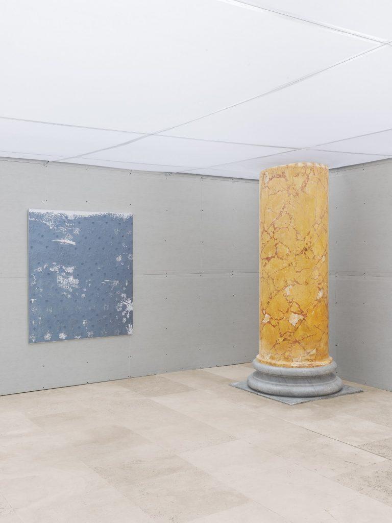 Lorenza Longhi, veduta dell'allestimento, Quadriennale d'arte 2020 FUORI, courtesy Fondazione La Quadriennale di Roma, foto DSL Studio