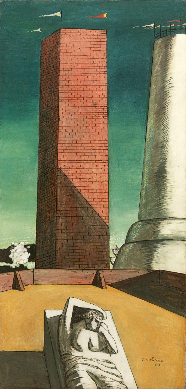 Giorgio de Chirico, Il Pomeriggio di Arianna (1913). Sotheby's