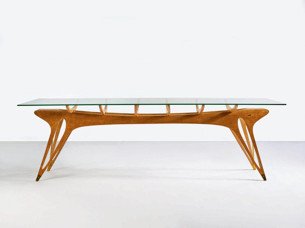 Carlo Mollino, Dining Table, progettato nel 1949. Sotheby's