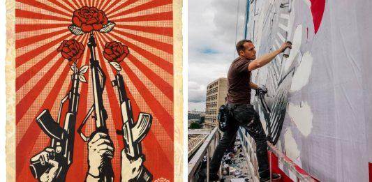 Shepard Fairey / 3 Decades of dissent
