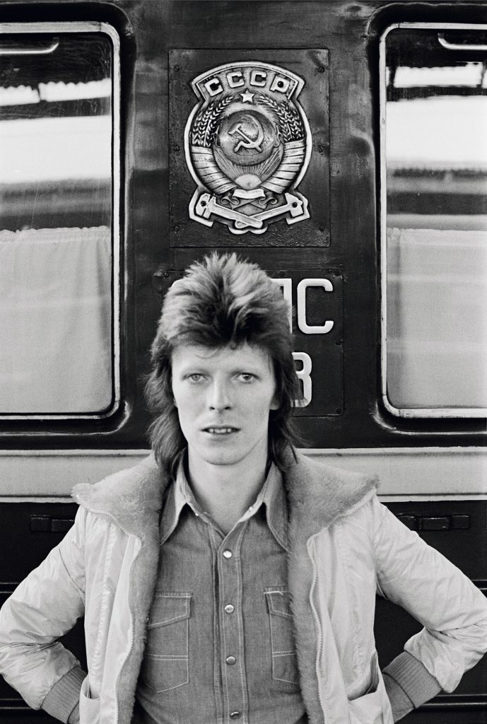 David Bowie: In Front of the 'Trans Siberian Express Images courtesy of the artist, © Geoff MacCormack