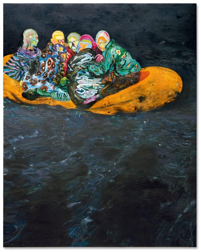 Daniel Richter, Tarifa (2001). Christie's. © Daniel Richter, DACS 2020