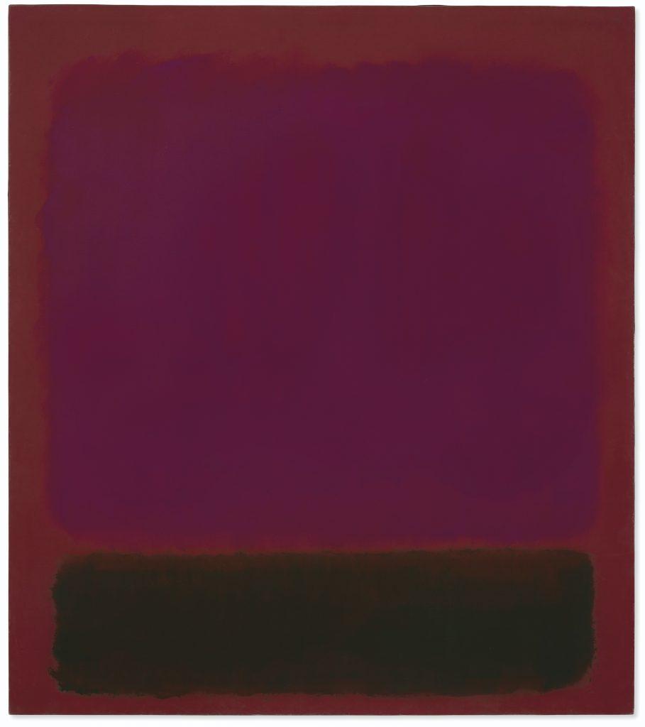 Mark Rothko, Untitled. Christie's