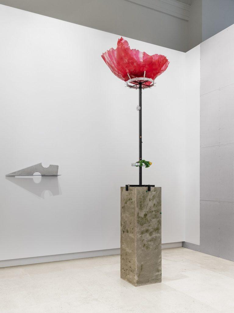 Caterina De Nicola, veduta dell'allestimento, Quadriennale d'arte 2020 FUORI, courtesy Fondazione La Quadriennale di Roma, foto DSL Studio