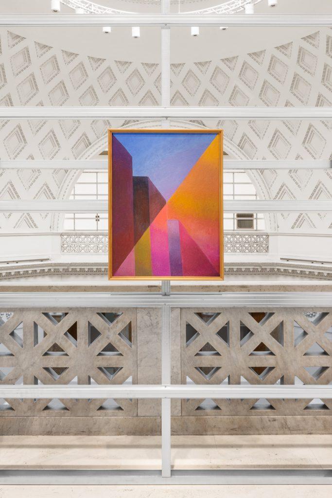 Salvo, La città, 1987, Quadriennale d'arte 2020 FUORI, courtesy Fondazione La Quadriennale di Roma, foto DSL Studio