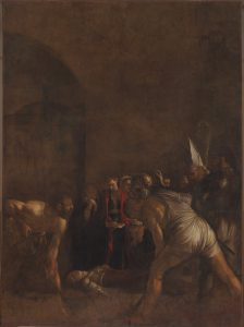 Caravaggio (Milano, 1571 - Porto Ercole, GR, 1610) Seppellimento di Santa Lucia, 1608 ca Fondo Edifici di Culto, Ministero dell'Interno. Courtesy to MART.