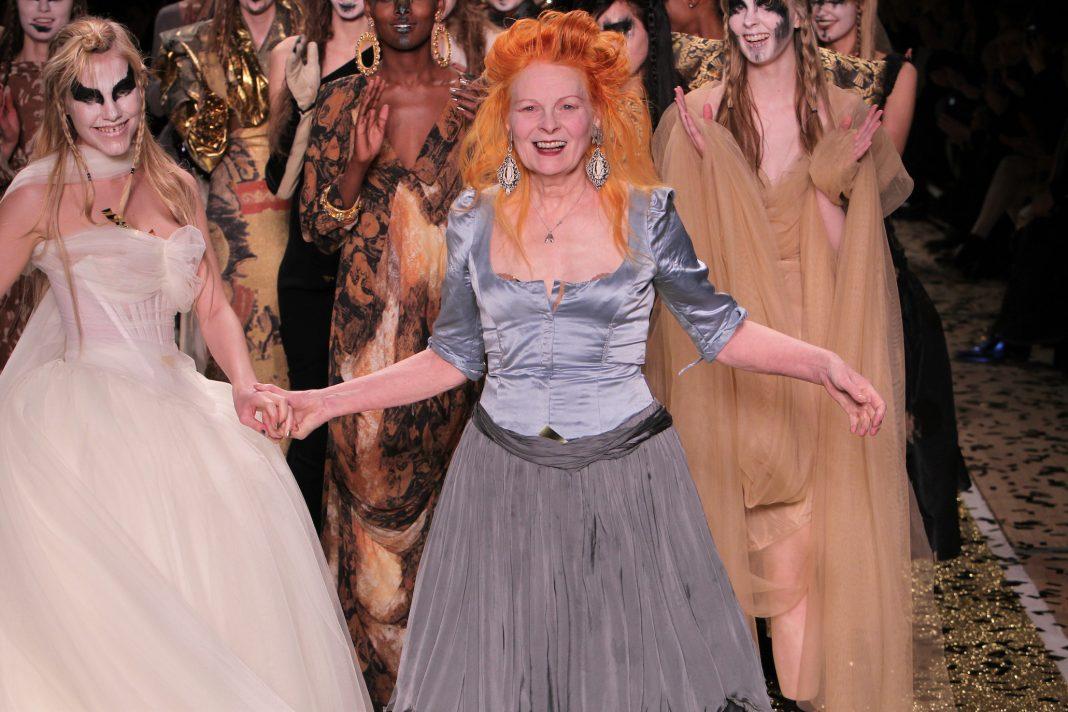 Vivienne Westwood, défilé World Wide Woman, automne-hiver 2011-2012 Paris, mars 2011 © Guy Marineau
