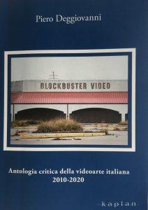 Antologia critica della video arte italiana, cover